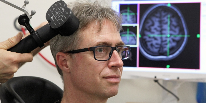A new Innovation Fund Denmark project will determine the exact points in the brain where magnetic stimulation will have the greatest treatment effect on the individual patient suffering from depression. photo Jesper Scheel