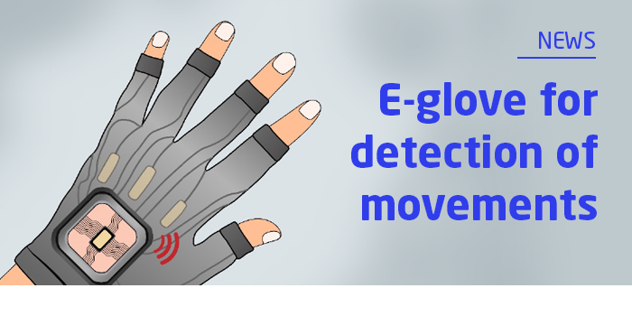 E-glove for detection of movements