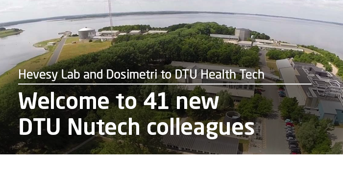 Welcome to 41 new DTU Nutech colleagues